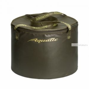 В-07 Ведро Aquatic для замешивания корма (герметичное, с крышкой)