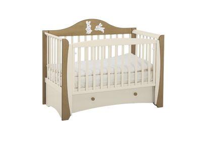 Детская кроватка маятник Papaloni Olivia