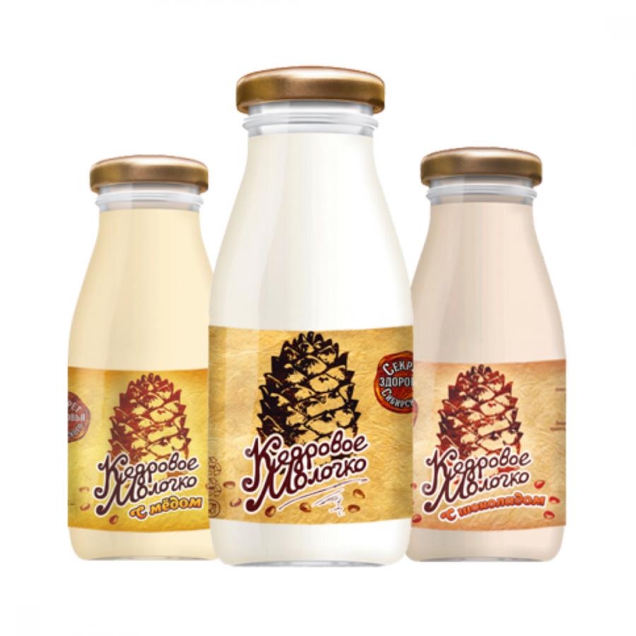 Кедровое молочко 200мл (12шт)