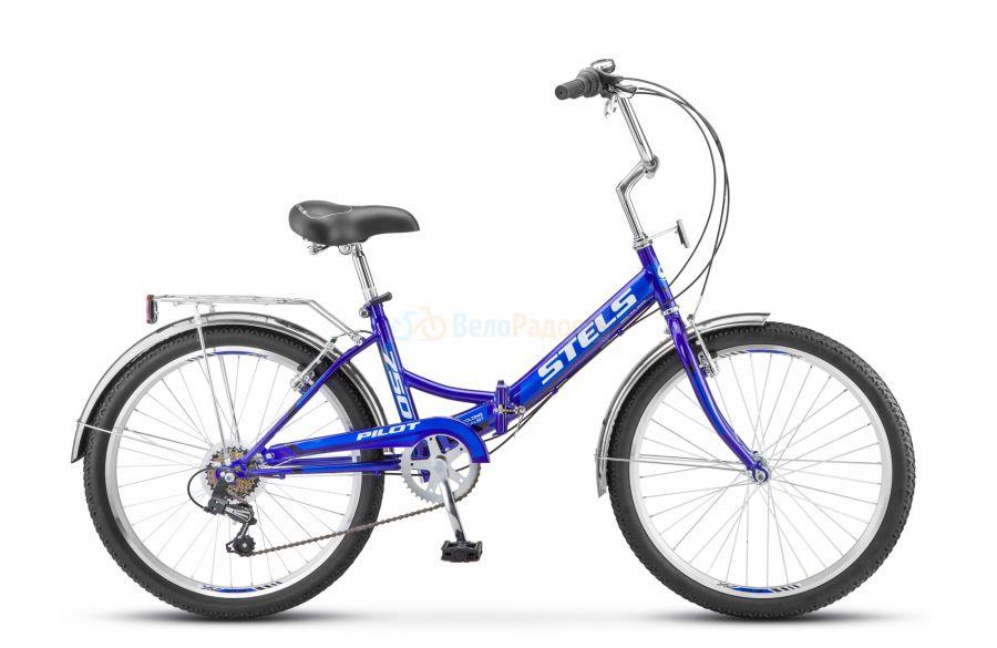 Велосипед складной Stels Pilot 750 24 Z010 (2018)