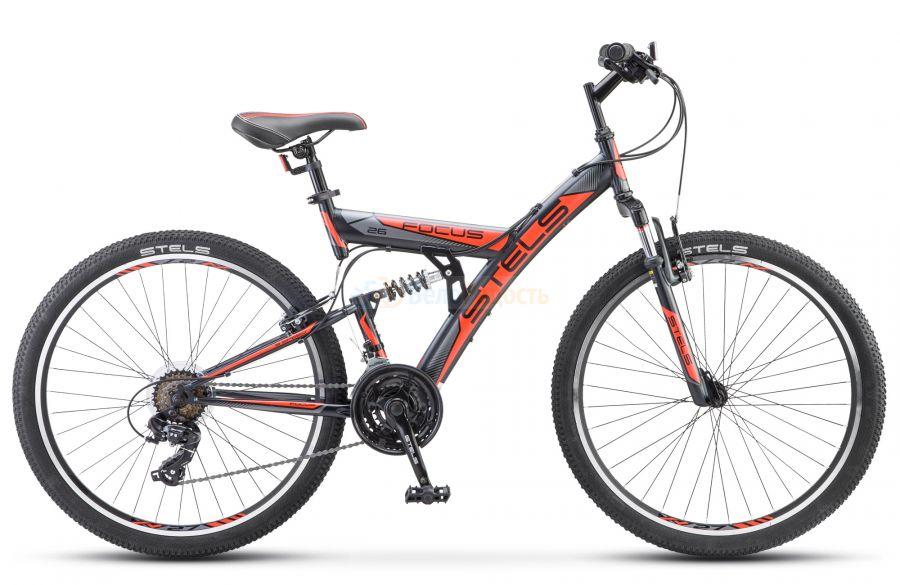 Велосипед двухподвесный Stels Focus V 26 18-sp V030 (2021)