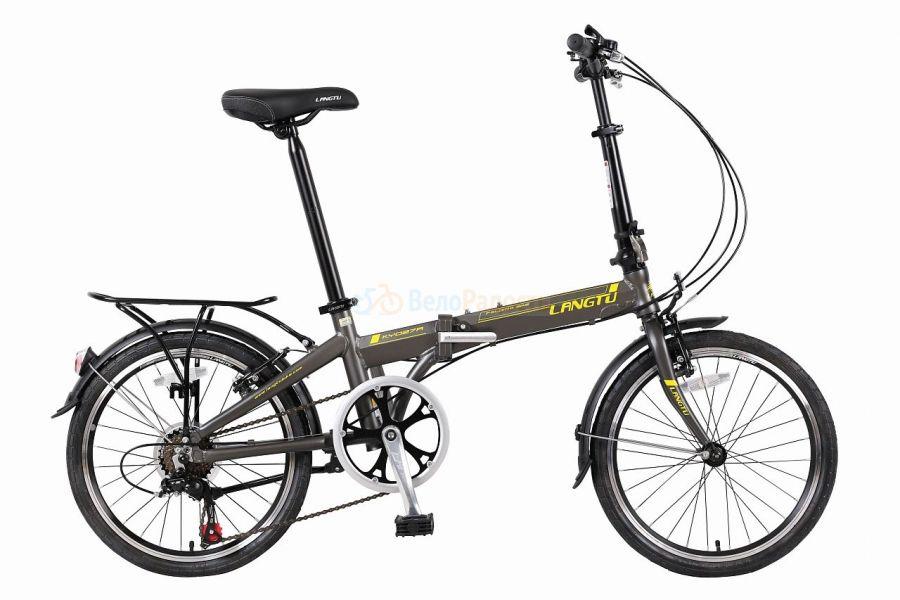 Велосипед складной Langtu KY 027A (2018)
