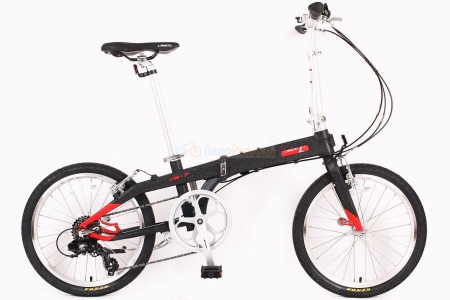 Велосипед складной Langtu V3-7 (2018)