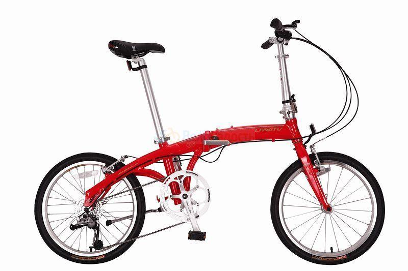 Велосипед складной Langtu KW 028 (2018)
