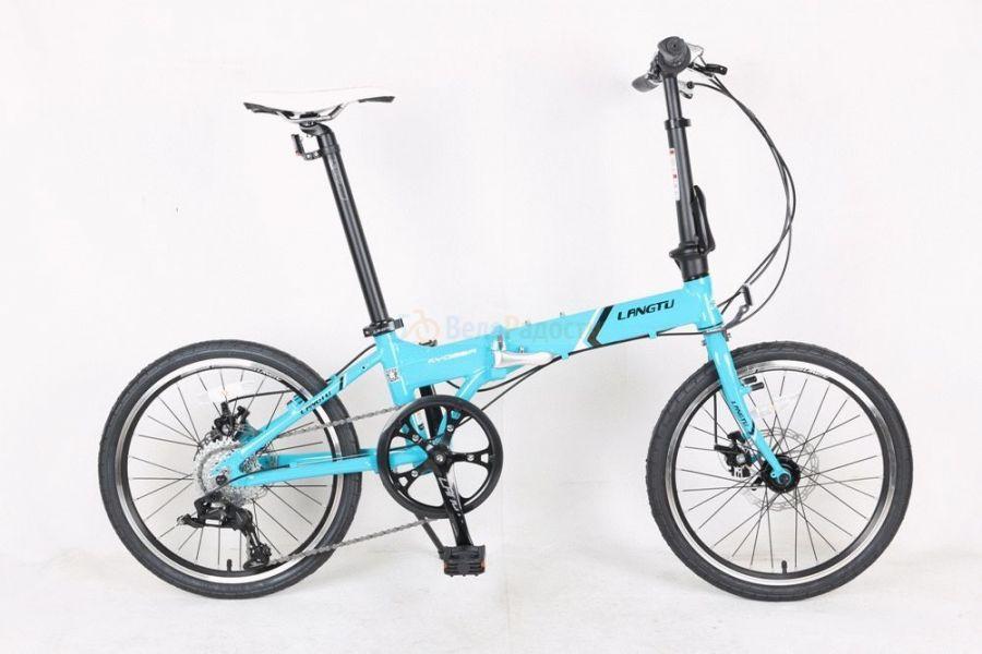Велосипед складной Langtu KY 028A (2018)