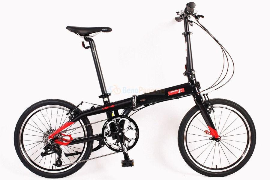 Велосипед складной Langtu V3-8 (2018)