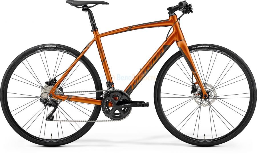 Велосипед городской Merida Speeder 400 (2019)