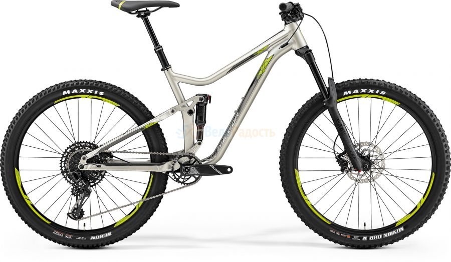 Велосипед двухподвес Merida One-Forty 600 (2019)