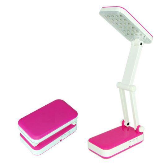 Лампа Настольная TOP WELL LED, Цвет Розовый