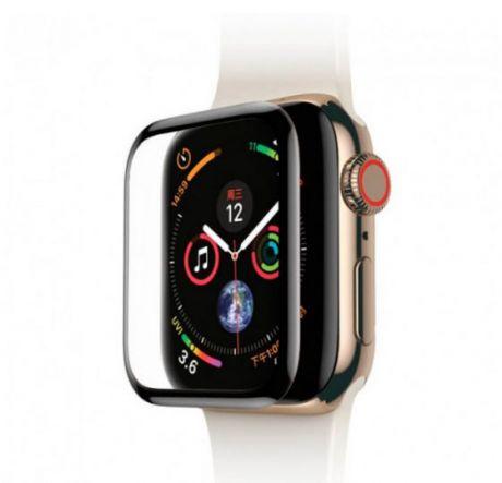 Защитное стекло для Apple Watch Devia 40mm 3D Full Screen