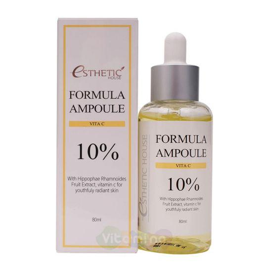 Esthetic House Сыворотка для лица с витамином С Formula Ampoule Vita C