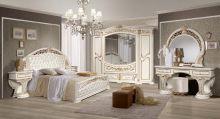 Спальня ЛАТИФА 6-дверный шкаф, эмаль