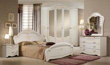 Спальня ДЖАМИЛЯ 5-дверный шкаф, эмаль