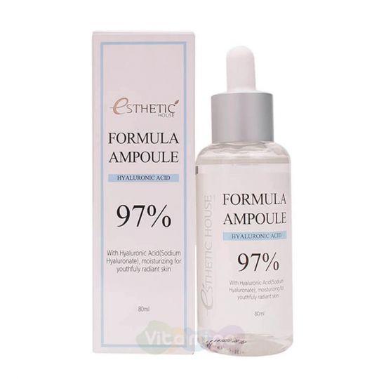 Esthetic House Сыворотка для лица с гиалуроновой кислотой Formula Ampoule Hyaluronic Acid