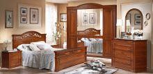 Спальня РАМИНА 5-дверный шкаф
