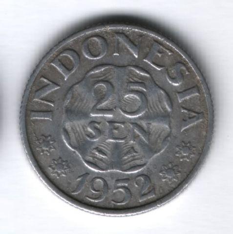 25 сен 1952 года Индонезия