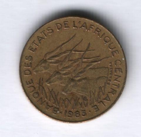 5 франков 1983 года Центральные Африканские Штаты