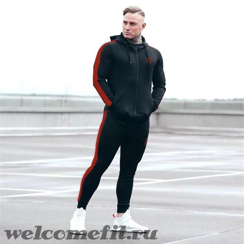 ONE ATHLETIC SET - BLACK RED