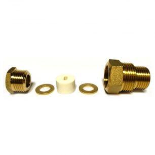 Сальник для ввода кабеля в трубу AKS-3 (силиконовый уплотнитель,резьба ½ и ¾ дюйма , инструкция)