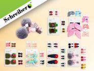 Набор заколок для волос, дизайны в ассортименте (арт. S 8473)