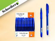 Ручка шариковая с чернилами на масляной основе, 0,7 mm, цвет чернил - СИНИЙ (арт. S 813)