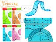 Набор линеек пластиковых гибких, 20 см (3 шт.) (арт. TZ 7272)