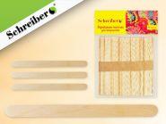 Деревянные палочки для творчества, 12х4.5см (арт. S 2739)
