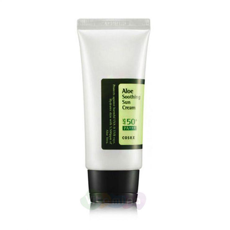 CosRX Солнцезащитный крем с соком алоэ вера Aloe Soothing Sun Cream, 50 мл