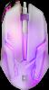 Проводная оптическая мышь Cyber MB-560L 7цветов,3кнопки,1200dpi,белый