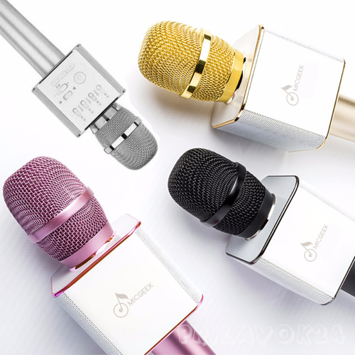 Беспроводной микрофон Micgeek Q9  bluetooth для смартфонов