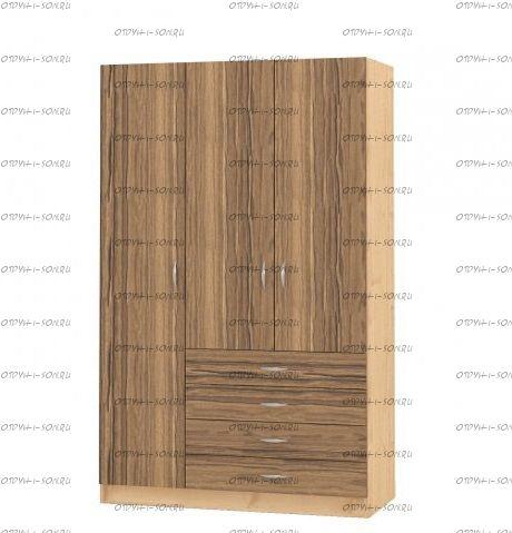 Шкаф трехдверный Рома 3.3 (120х52х200)