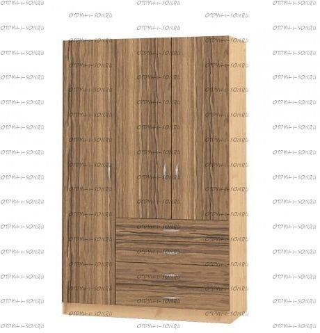 Шкаф трехдверный Рома 3.3 (120х50х200)
