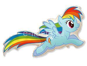 Фигура Пони голубой