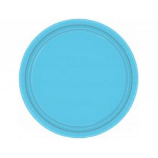 Тарелки голубые (Карибы)