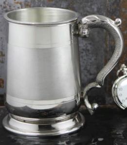 Кельтский Танкард (пивная кружка) - Кавалерийский CAVALIER SATIN BAND TANKARD.