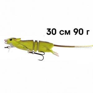 Приманка мышь Savage Gear 3D Rad 300 мм / 90 гр / цвет: 08 Fluo Yellow