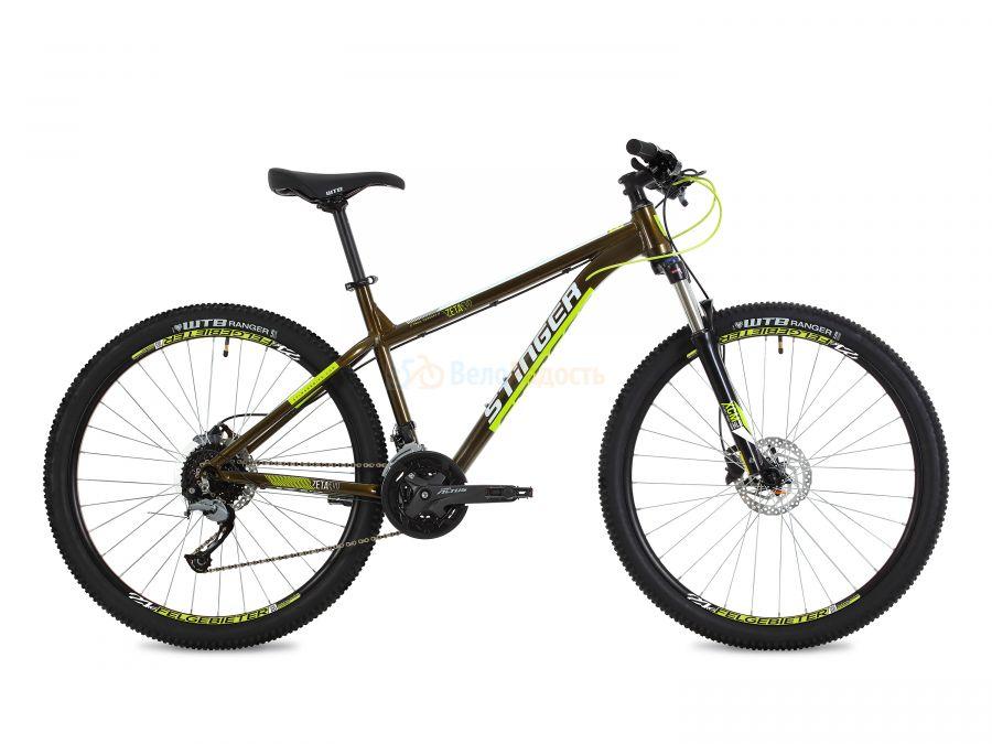 Велосипед горный Stinger Zeta EVO 27.5 (2019)