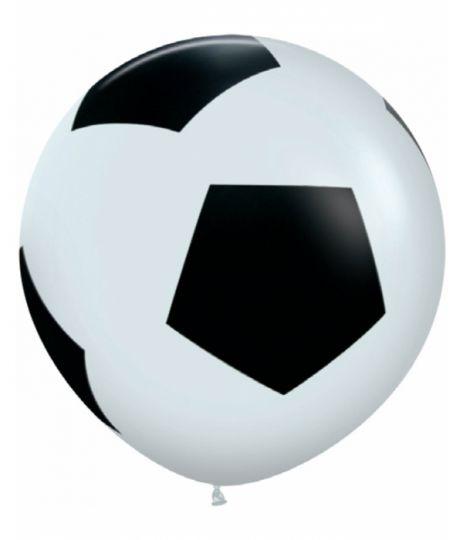 Футбольный мяч большой латексный шар с гелием