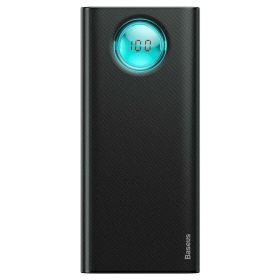 Аккумулятор 20000mAh (QC 3.0, Type-C, iPhone), Baseus (черный)