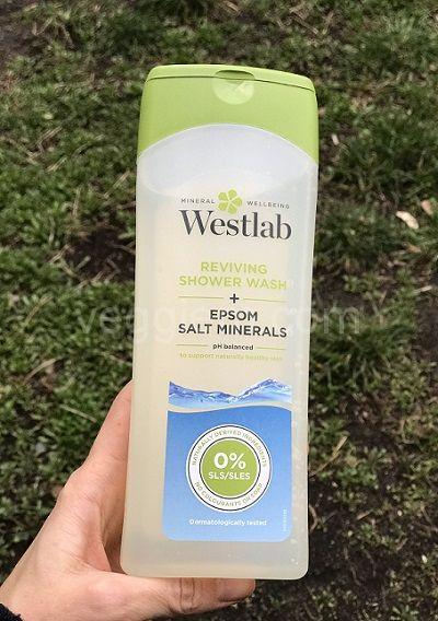 Гель для душа WestLab с Эпсом солью,400 ml