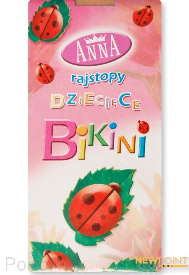 Anna Bikini колготки для танцев 20 DEN белый