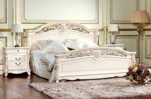 Кровать AFINA 160*200 щит эмаль