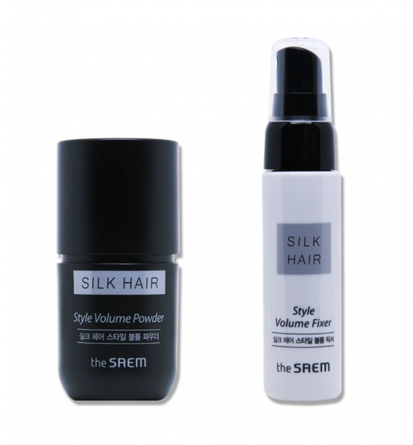 Набор для укладки волос Silk Hair Style Volume Powder Set 30мл/10гр