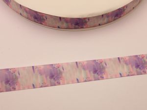 Лента репсовая с рисунком, ширина 22 мм, длина 10 метров, ЛР5731