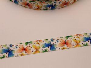 `Лента репсовая с рисунком, ширина 22 мм, ЛР5722