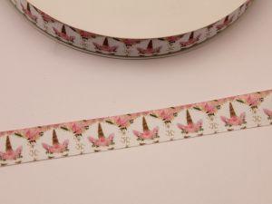 `Лента репсовая с рисунком, ширина 22 мм, ЛР5736