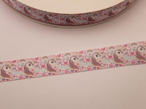 `Лента репсовая с рисунком, ширина 22 мм, ЛР5743