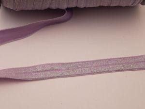 `Бейка эластичная с люрексом, ширина 16 мм, ЛБ0007-2
