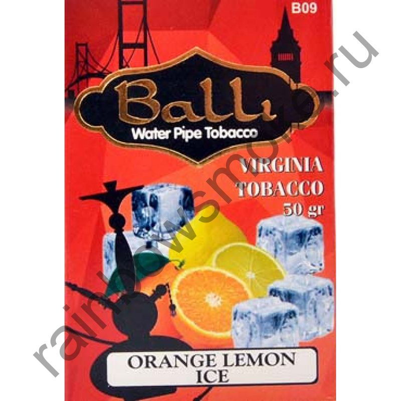 Balli 50 гр - Orange Lemon Ice (Апельсин Лимон Лед)