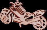 Деревянный конструктор  мотоцикл